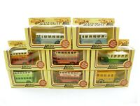 Job Lot Collection of 8 Lledo Models Of Days Gone diecast model buses coaches