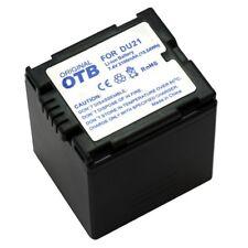 Akku kompatibel zu Panasonic CGA-DU21 Li-Ion zB NV-GS10 / NV-GS17 2091053