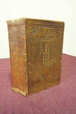 1869 Bible, KJV - Bergen County Bible Society Imprint on Cover