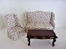 1:12 miniatura cama individual-mahaghoni-casa de muñecas-muñecas Tube-muebles nuevo
