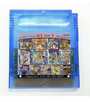 61 in 1 Game Boy Advance Color GBA GBC SP Nintendo Multicart Cartridge