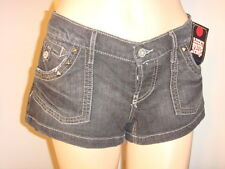 NWT LUCKY SHORTS Low-Rise Slim Fit DARK BLUE $69 SIZE 0/25 HOT SEXY !!
