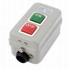 AC 380V 10A ON OFF Latching Machine Drill Press Switch Push Button I5V7
