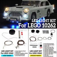 LED Lichterkette für Lego 10262 Auto für Aston Martin DB5 für James Bond Bricks