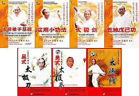 Wu Style Taichi Wang Peisheng 15VCDs Special Collection Free Express Shipping