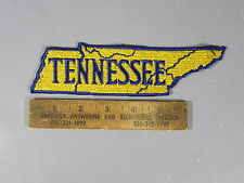 """7 1/2"""" Tennessee Patch / New Old Stock of Closed Embroidery Company / FREE Ship"""
