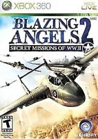 Blazing Angels 2 Secret Missions Xbox 360 Game Air-Force Fighter Jets