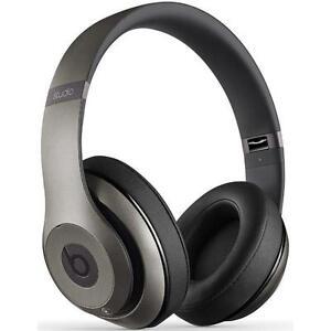 Beats by Dr. Dre Studio Wireless Headband Headphones - Titanium