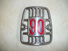 Honda CM 91, 90, 90cc, Cub Front Emblem - 1969 NOS cm90