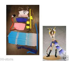2PCS Halloween Complete Gunner Yuna Costume Cosplay Final Fantasy X2 SIZE XL