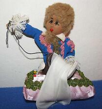 """1960s Cold War Era Ddr Arnstadt Kleine Schneiderlein """"Little Tailor"""" Doll W/ Box"""