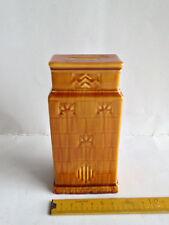 alter Kachelofen,Stubenofen,Keramik Ofen als Spardose Büchse,Zubehör Puppenstube