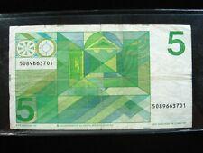 NETHERLANDS 5 GULDEN 1973 DUTCH SHARP 01# Currency Bank Money Banknote