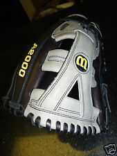 """PRO ISSUE WILSON A2000 PRO STOCK YBG BASEBALL GLOVE 12.5"""" LH MADE IN JAPAN"""