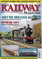 The Railway Train Magazine Rebuilt Dawlish New London Eurostar Hitachi Rail 2014