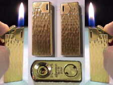 Briquet Ancien #  MARUMAN Halley Deluxe DL-18 # Gas Lighter Feuerzeug accendino