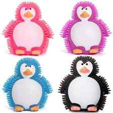 Flashing Puffer Penguin Animal Spikey Light Up Cute Soft Toy Game Party Bag Item