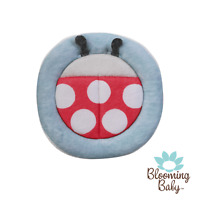 Blooming Bath Ladybug Scrubbie, Soft, Fun, Cute, Baby Washcloth, Bathtime