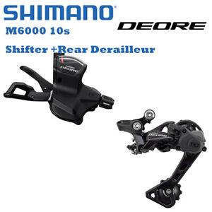 Shimano Deore M6000 Mountain Bike Groupset 10Speed SL RD Shifter Rear Derailleur