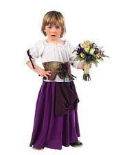 Disfraz tabernera medieval niña infantil tallas 2 y 3 años bebe