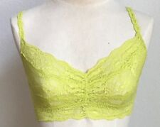 Cosabella Never Say Never Sweetie Bralette Acid Lime Small $52