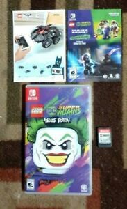 Lego DC Super Villians Deluxe Edition (Nintendo Switch)  VG Shape & Tested