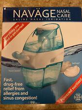 NAVAGE Nasal Care SDG-2 Saline Nasal Irrigation Powered Suction Brand New