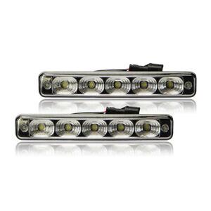 5 LED Daytime Running Lights Seat Ibiza +Cordoba+Toledo+Alhambra