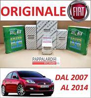 KIT TAGLIANDO FILTRI ORIGINALI+OLIO SELENIA FIAT BRAVO II 1.6 MULTIJET 2007-2014