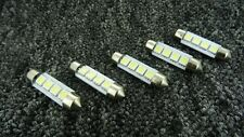 VAUXHALL 39mm 4 SMD LED 239 272 C5W CANBUS NO ERROR INTERIOR LIGHT FESTOON BULB