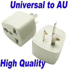 3 Pin Universal UK/US/EU/AU to AU Australian Travel Power Adapter Plug