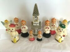 Vintage Christmas Gurley Candles, Lot of 11