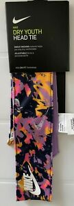 Nike Dry Youth Head Tie One Size