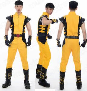 "Wolverine James ""Logan"" Howlett X-Men cosplay costume"