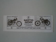 advertising Pubblicità 1974 MOTO GORI 50/125 REGOLARITA' COMPETIZIONE