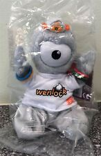 New Olympic 2012 Wenlock Mascot Cuddly Collectable - Wenlock Named T-Shirt