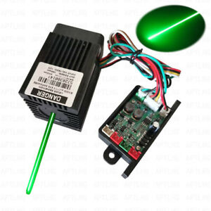 Laser Module Green 532nm 300mW G300 Analog signal Focusable DC12Vcontinuous work