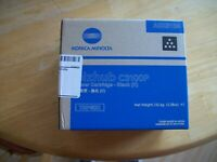 Genuine Konica Minolta TNP50K  Toner Cartridge - Black / Open Box / Sealed Toner