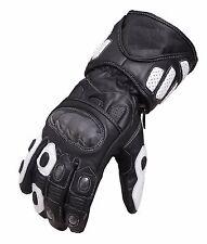 Waterproof Motorcycle Motobike Scooter Leather Sports Long Gloves Windproof