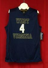 NEW West Virginia Mountaineers #4 ProEdge Mens NCAA Basketball Jersey Size LARGE