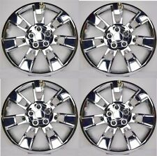 New 2014 2016 Toyota Corolla 16 Chrome Hubcaps Wheelcover Set Of 4 Fits Toyota
