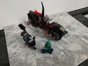 Lego teenage mutant ninja turtles minifigures 3 x minifigures plus vehicles