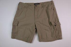 Wolverine Men's 38 Cargo Shorts Canvas Cotton Tan
