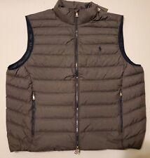 Polo Ralph Lauren Men's Gray Heather Packable Puffer Vest Sz XXL [NEW WITH TAGS]