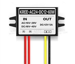Buck Converter Step Down Module Power Supply AC16V-28V / DC16-40V to DC12V 5A