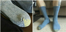 3 Pair Men's Gold Toe Cushioned Sole Work Socks, Gray, Shoe Sizes 7-12