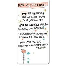 Inspired Words Magnetic Bookmark - For My Soulmate