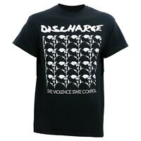 DISCHARGE State Violence T SHIRT S-M-L-XL-2XL New Official Kings Road Merch