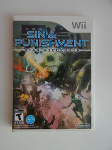 Sin and Punishment: Star Successor Game Complete! Nintendo Wii