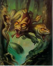 Boris Vallejo postercard: hidra (estados unidos, 1992)